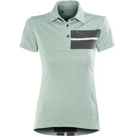 Shimano Transit maglietta a maniche corte Donna verde/nero